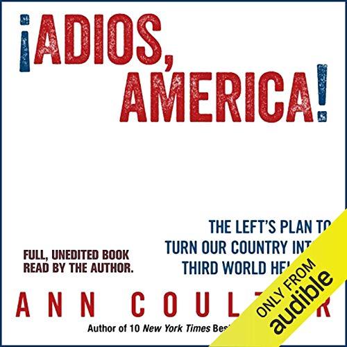 Adios, America audiobook cover art