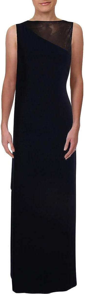 Lauren by Ralph Lauren Women's Sleeveless Jersey Column Gown