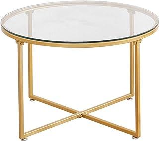 magasin en ligne 75470 ac3fd Amazon.fr : table basse verre - Or