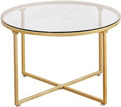 design de qualité af1b2 a3319 Amazon.fr : table basse en verre - Or
