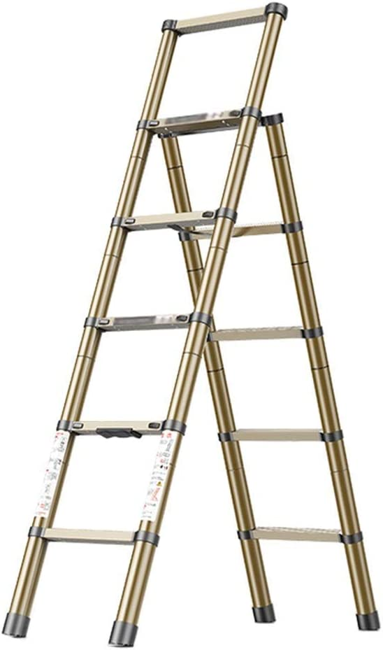 FXLYMR Ladders Telescopic Be super welcome Ladder Stools Step Super intense SALE Collapsible Portabl
