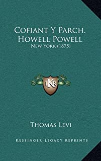 Cofiant y Parch. Howell Powell: New York (1875)