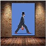 Wsxyhn Balling Lincoln Poster Und Print Wandkunst Leinwand