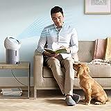 ダイソン パーソナル空気清浄扇風機 dyson Pure Cool Me BP01WS ホワイト/シルバー 空気清浄ファン PM0.1を99.95%除去 花粉 カビ ウィルス ニオイ キッチン・寝室・子供部屋にも