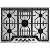 Frigidaire Professional 30 Inch Gas, Stainless Steel 5-Burner