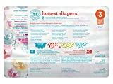 Honest Baby Diapers, Rose Blossom, Size 3 (136 Count)