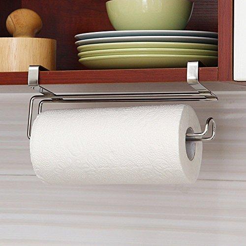 Ecosway Papierrolle, Küchenpapier, Edelstahl, unter Schrank Pattern B