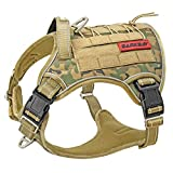 Tactical Dog Harness Large,Military Service...