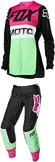 Fox Racing Womens 180 Fyce Jersey/Pants Set -M/8