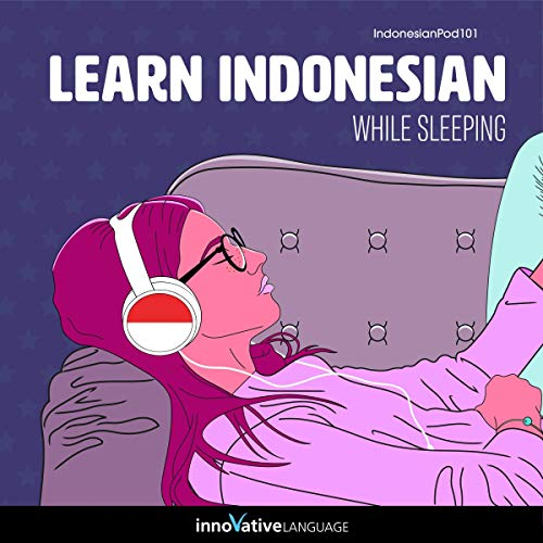 Learn Indonesian While Sleeping cover art
