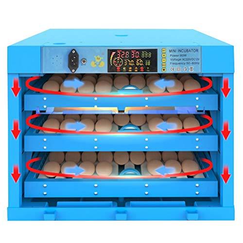 CHICTI Incubadora Automática De 192 Huevos Eclosiones De Aves Pequeñ