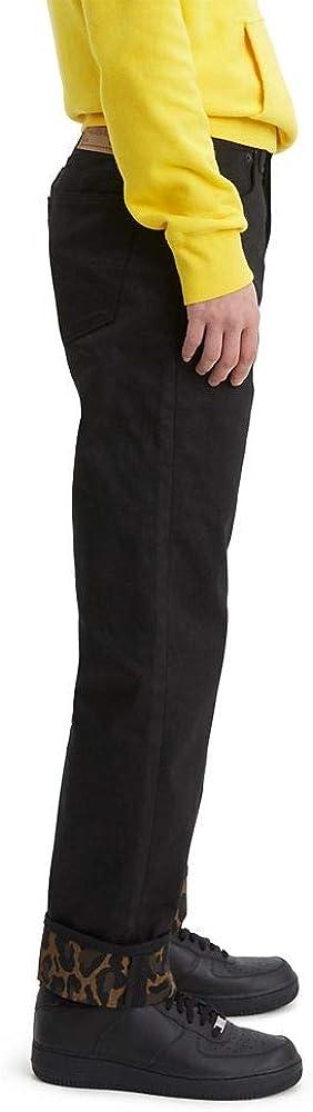 Levi's 501 Original Shrink-to-fit Jean Homme Bubble Cheetah Monks Manchette Peignoir