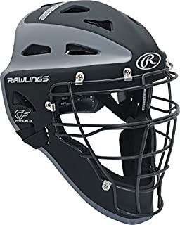Rawlings Sporting Goods Catchers Helmet Velo Series Adult 7 1/8-7 3/4 inch CHVEL