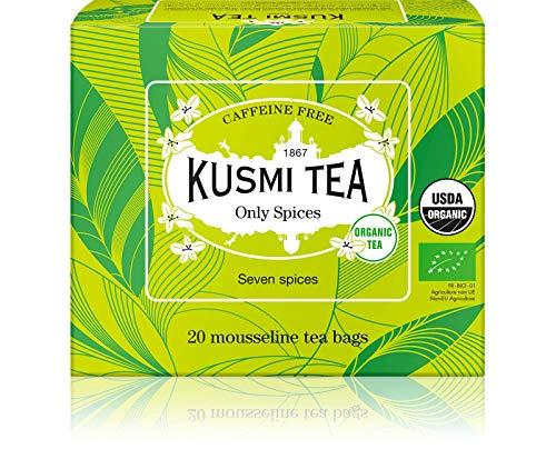 Kusmi Tea - Infusión ecológica Only Spices - Mezcla de especias procedentes de la agricultura ecológica - Canela,...