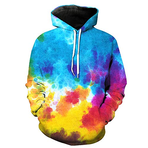 KIDVOVOU Boys Girls 3D Galaxy Unicorn Print Sweatshirts Pullover Kids Hoodies with Pocket 3-12Y