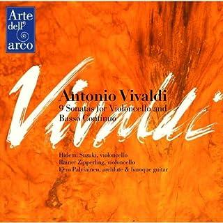ヴィヴァルディ : チェロと通奏低音のためのソナタ集(9曲)全集 (Antonio Vivaldi : 9 Sonatas for Violoncello and Basso Continuo / Hidemi Suzuki, Rainer Z...