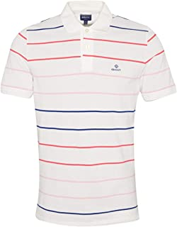 GANT Multi Stripe Pique Rugger Polo Shirt