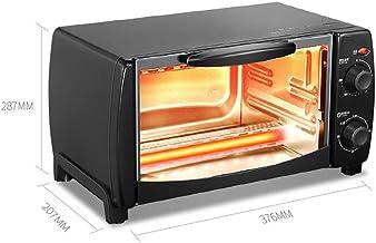 JINRU Horno Multifuncional Moderno de Acero Inoxidable para Control de Temperatura, Negro
