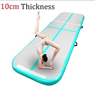 10ft Tumbling Air Track Without Pump, Inflatable Gymnastics Tumble Track AirTrack Air Floor Mats for Home,Gym, Training, Backyard, Cheerleading, Beach, Park and Pool