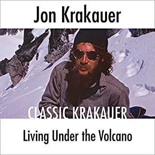 Living Under the Volcano audiobook cover art