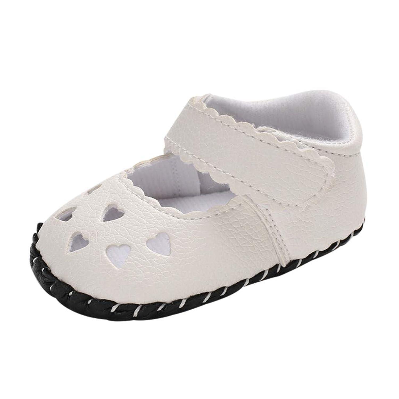 [Kukiwa] ベビー幼児靴 サンダル 新生児幼児赤ちゃん 心付き学步靴 幼児の靴 ベビーシューズ 柔らかい 滑め防ぐ 室内履き 出かけ