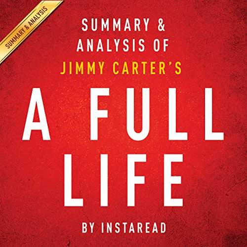 A Full Life: Reflections at Ninety by Jimmy Carter audiobook cover art