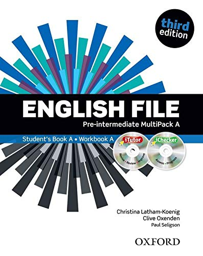English File Third Edition: Pre-Intermediate Multipack A SB+WB Lessons 1-6: The best way to get your students talking