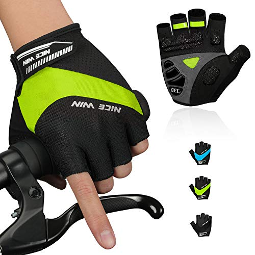 guanti mtb specialized NICEWIN Cycling Gloves Mountain Bike Motorcycle-2020 Upgrade Classic Half-Finger Road Bicycle Glove for Men Women Soft Shockproof Liquid Silicone Pad Modules