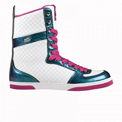 Osiris Uptown Ltd Girls Boot White/Croc/Fuchsia - Snowboard Boots, Schuhgrösse:37.5