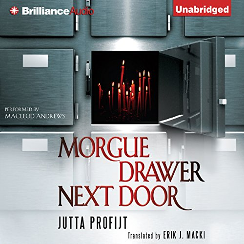 Morgue Drawer Next Door audiobook cover art