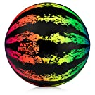 "Watermelon Ball JR - Pool Toy for Underwater Games - Durable Ball for Pool Football, Basketball & Rugby - Perfect for Water Parties - Fun for Adults & Kids Alike - 6.5"" Fillable Pool Ball - Ages 6+"