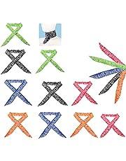 Integriteit.1 Ice Cooling Sjaal, 10 Stuks Nek Koeling Sjaal, Koeling Nek Wrap Hoofdband, Sjaal Koeling Gel Neck, voor Mannen en Vrouwen Outdoor Activiteiten