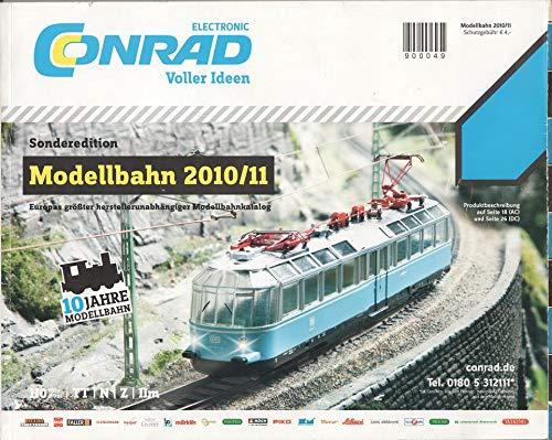 Conrad Sonderedition Modellbahn 2010/11 Katalog