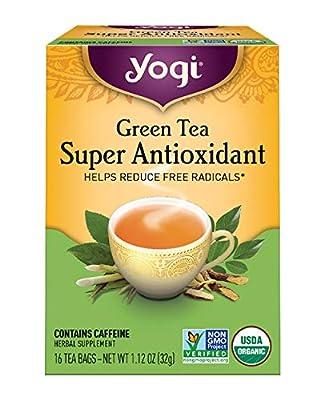 Yogi Tea, Green Tea Super Antioxidant, 16 Count