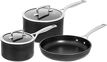 Pyrolux Heavy-Duty Cookwares Set, Black, 11183