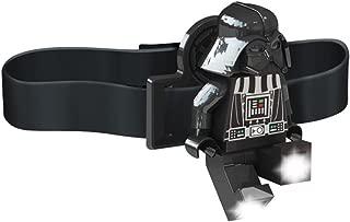 LEGO Star Wars Darth Vader Head Lamp   Adjustable Headband Fits All Sizes   Headlamp for Kids