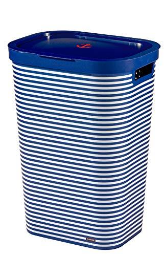 Curver Infinity wasmand, 60 l, 44 x 35 x 60 cm, marineblauw