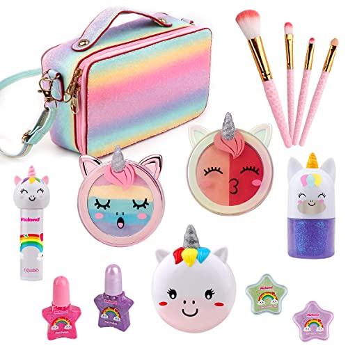Meland Kids Makeup Kit - Real Girls Makeup Kit Unicorn Set with...