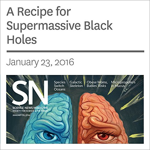 A Recipe for Supermassive Black Holes                   By:                                                                                                                                 Andrew Grant                               Narrated by:                                                                                                                                 Mark Moran                      Length: 2 mins     Not rated yet     Overall 0.0