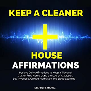 Keep a Cleaner House Affirmations audiobook cover art