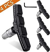 Hyacinth 4PCS Premium Bike Brake Pads, Professional Mountain and Road Bicycle V-Brake Pads, Bike Brake blocks Kit, for Free Hex Wrench.