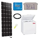 Kit solar 150 W frigorífico steca 166L