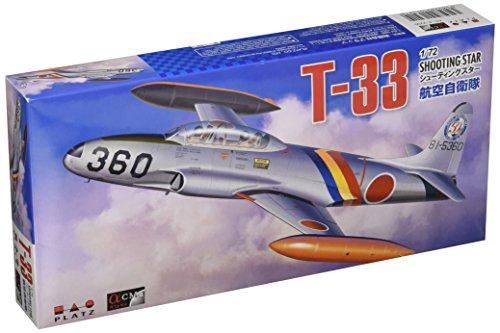 プラッツ 1/72 T-33 シューティングスター 航空自衛隊 プラモデル