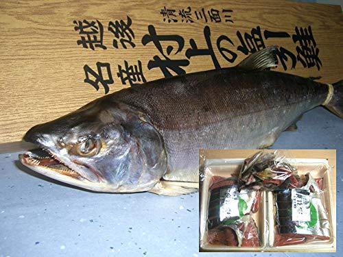 [年末年始のご挨拶]塩引き鮭(一本物・切り身加工)4kg台 越後村上の名産品です。贈り物に大変喜ばれます