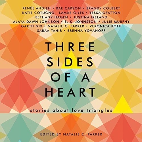 Three Sides of a Heart audiobook cover art