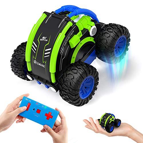 EACHINE Ferngesteuertes Mini Auto Indoor EC11 Stuntauto RC Car Demofunktion Herum drehen 360°2.4GHz Kreiselauto Palmeauto Spielzeugauto für Kinder ab 3 Jahre