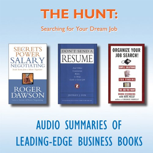 The Hunt: Searching for Your Dream Job  Audiolibri