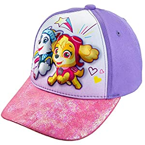 Nickelodeon Toddler Girls' Paw Patrol 3D Cotton Baseball Cap Hat Age 2-5