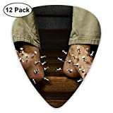 Pacco di 12 chitarre elettriche che sceglie i piedi degli plettri con contrabbassi Chitarr...