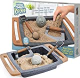 Kinetic Sand Kalm, Zen Garden Box Fidget Toy with All-Natural and 3 Tools for Relaxing Play, Sensory Toys, Sand Toys for Adults and Kids